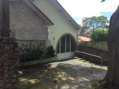 Casa Térrea Para Locação No Centro De Santo André - 8392