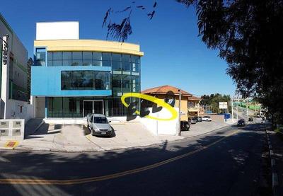 Salão Para Alugar, 480 M² Por R$ 15.000/mês - Granja Viana - Cotia/sp - Sl0121
