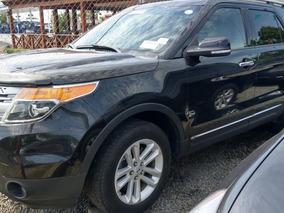 Ford Explorer Xlt 4wd Negra 2014