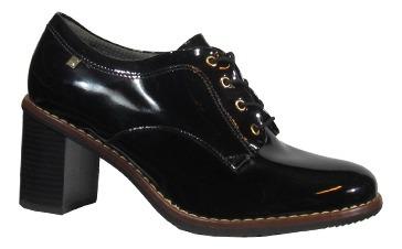 Picadilly 342007 Zapato Acordonado Con Taco Mujer