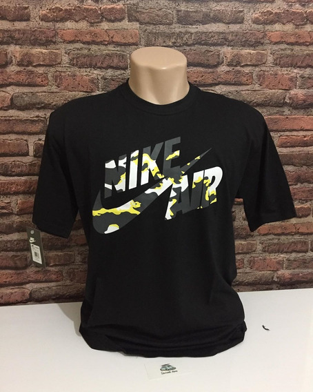Lote Com 3 Camisas Nike Sb Air, E Linha Jordam