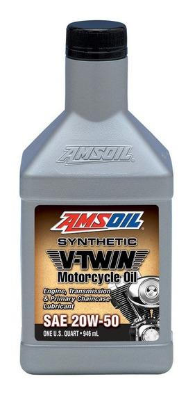 Aceite Sintetico Amsoil Motos Motor V-twin) 20w-50 946ml