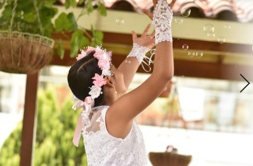 Vestido Primera Comunión - Niña - Talla 10-12