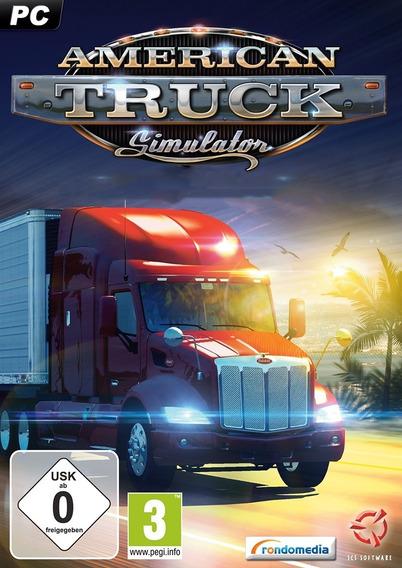 American Truck Simulator V 1.32 + 17 Dlcs Pc Game