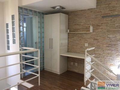Lindo Loft Duplex,totalmente Mobiliado,bem Localizado - Nm44