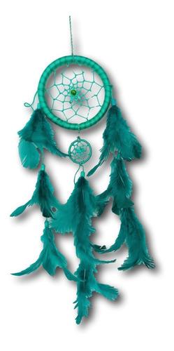 Filtro Dos Sonhos Com Penas Verde Ref: 1034