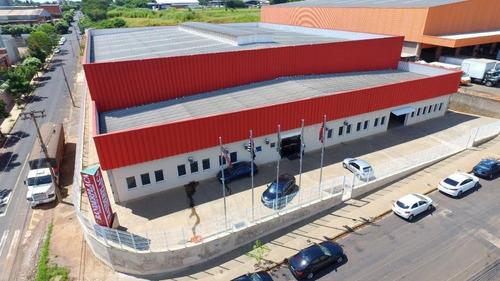 Imagem 1 de 2 de Barracão, 3200 M² - Venda Por R$ 9.000.000,00 Ou Aluguel Por R$ 0,00/mês - Distrito Industrial - São José Do Rio Preto/sp - Ba0055