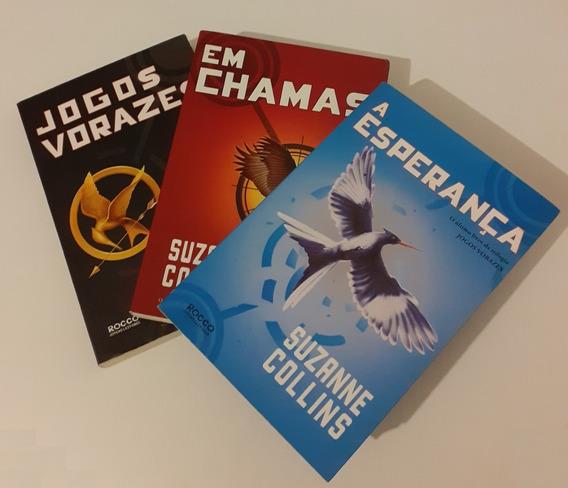 Trilogia Jogos Vorazes Três Livros