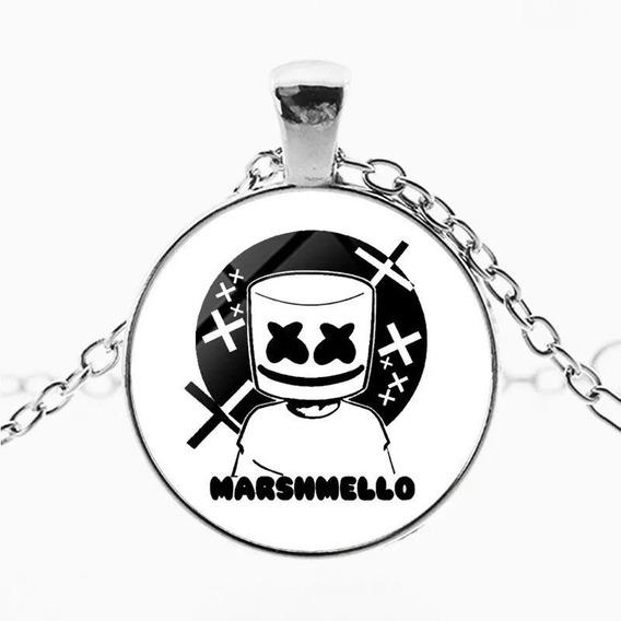Hermoso Collar Dj Marshmello, Música Electrónica Mellogang F