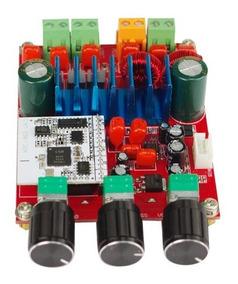 Kit Placa Amplificador 2.1 - 200w Rms Com Bluetooth