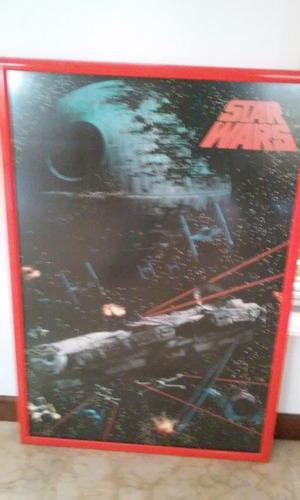 Afiches Originales Póster De Películas Enmarcados  Star Wars