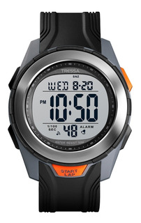 Reloj Tressa Digital Calendario Alarma Luz Sumergible 50m !!