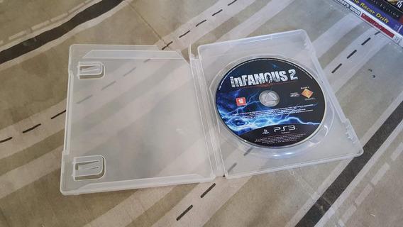 Infamous 2 Para O Playstation 3 Tudo Ok Sem Manual E Encarte