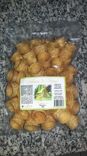 Canudos Pra Recheio( Canudo Frito) Caixa Com 24 Pacotes