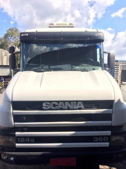 Scania T 124 360 - 2001 - 4x2 - Manual - Pronta Entrega