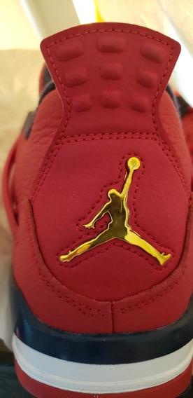 Jordan 4 Retro Rojo Gimnasio #25