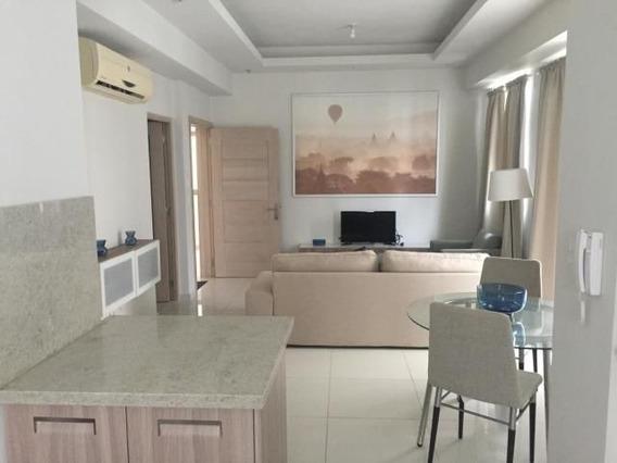 Apartamento Amueblado En Piantini, 1hab, 90 Mts