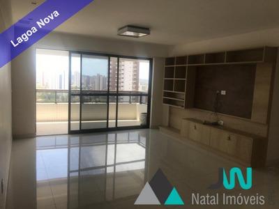 Venda De Apartamento Em Lagoa Nova, Com 4 Quartos E Segurança 24 Horas - Plaza Real - Ap00155 - 33125471