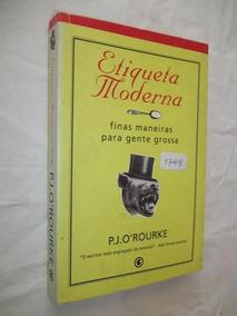 Etiqueta Moderna - P. J. O