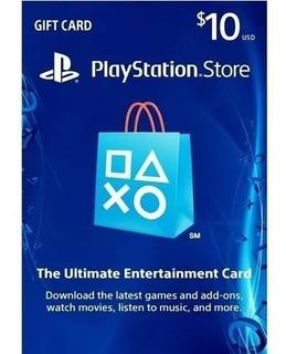 Oferta Playstation Network Card $10 Usa - Leer Descripcion