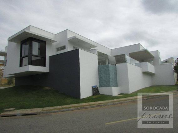 Casa Com 3 Dormitórios À Venda, 360 M² Por R$ 2.000.000 - Condomínio Belvedere Ii - Votorantim/sp, Próximo Ao Shopping Iguatemi. - Ca0021