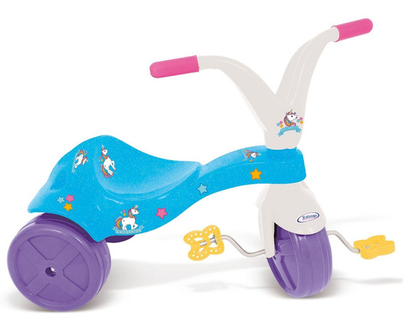 Triciclo Infatil Unicornio