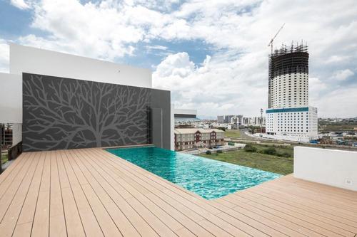 Imagen 1 de 7 de Exclusivos Departamentos En Juriquilla Con Infinity Pool En