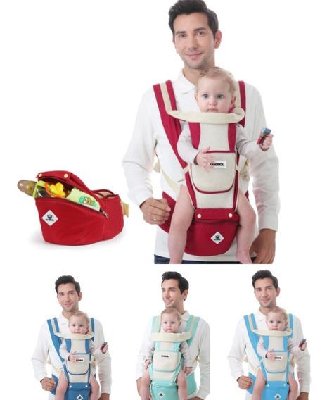 Canguru Carregador De Bebe Ergonomico C/ Assento Hipseat