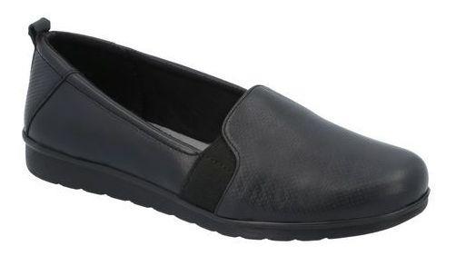 Zapato Flats Comodo Flexi Mujer Black M629782