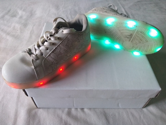 Zapatillas Con Luces Led Footy 47 Street Nº 32