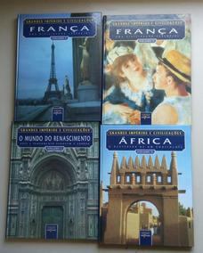 Livro Coleção Grandes Impérios E Civilizações 11 Volumes