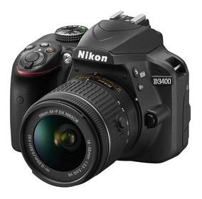 Nikon D3400 Kit 18-55 Af-p Memo 16gb