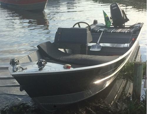 Barco De Aluminio 6mt Borda Alta