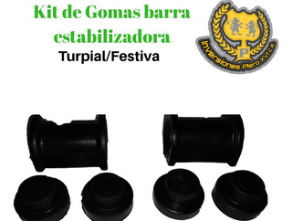 Kit Goma Barra Estabilizadora Turpial Festiva