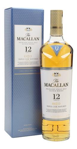 Imagen 1 de 7 de Estuche Whisky The Macallan 12 Años X700cc