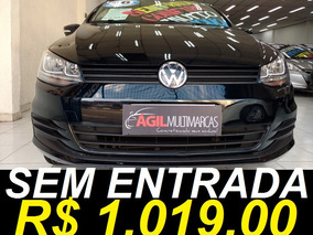 Volkswagen Fox 1.0 Trendline Único Dono 2016 Preto