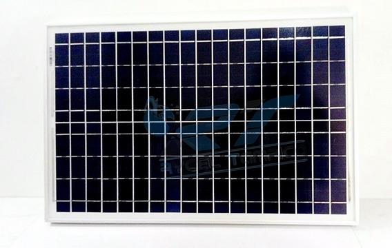 1 Modulo Panel Solar Celda 25w 25watts 12v Rancho Planta Luz