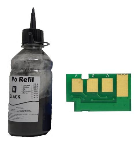 Imagem 1 de 1 de Refil De Toner Para D104s + Chip Ml16651660 Scx3200 1860