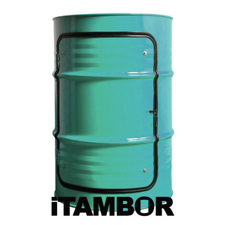 Tambor Decorativo Com Porta - Receba Em Miranorte