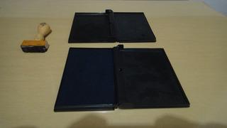 Almofada Para Carimbador Sem Tinta - 2 Unidades
