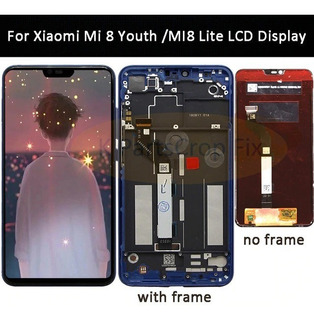 Tela Lcd Xiaomi Mi 8 Lite Conpleta Aaa