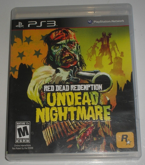Red Dead Redemption Undead Nightmare Ps3 Original Usado
