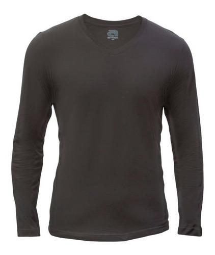 Camiseta Aritex Cuello En V Caballero M/larga 033716