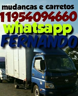 Mudanças E Carretos Montador De Moveis 11954094660 Fernando