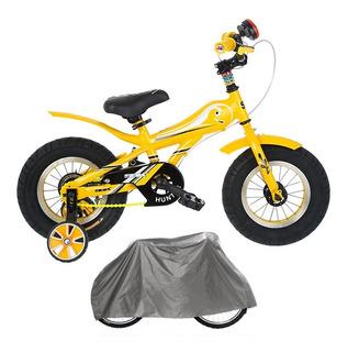 Bicicleta Nene Nena Rodado 12 Sbk Fat Bike Patona + Funda
