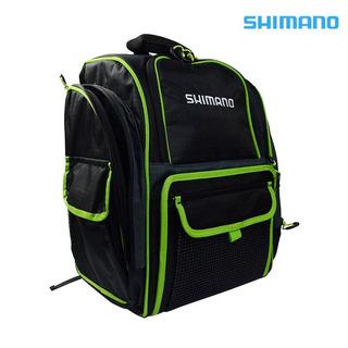 Mochila De Pesca Shimano Backpack Com 4 Estojos - Lug1511 Nf