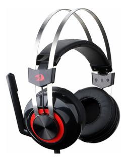 Diadema Gamer Usb Redragon H601 Talos, Audio 7.1 / Vibración