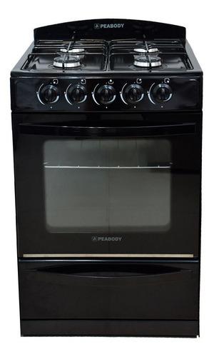 Cocina Peabody Multigas 56cm Negro