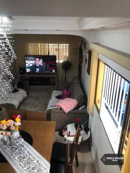 Casa Com 3 Dormitórios Para Alugar Por R$ 2.000/mês - Parque Continental I - Guarulhos/sp - Ca0003