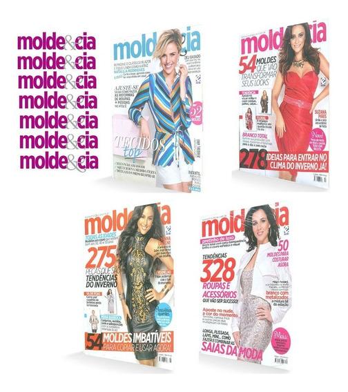 Molde & Cia 10 Revistas Com Moldes Looks Tecidos Tops Luxo